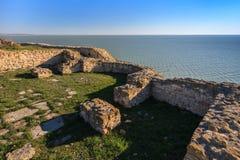 Argamum Fortress, Romania Royalty Free Stock Photography