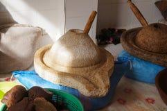 Argan μύλος καρυδιών Στοκ Φωτογραφία