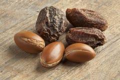 Argan nuts Stock Photos