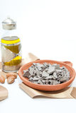 Argan Oil and  klay mineral Stock Photo