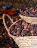 Argan seeds Royalty Free Stock Images