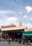 argana咖啡馆marocco马拉喀什 免版税图库摄影