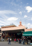 Argana Cafe - Marrakech, Marocco Royalty Free Stock Photography