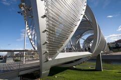 Arganzuela Bridge Royalty Free Stock Photo