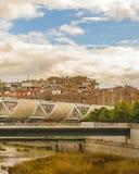 Arganzuelabrug, Madrid Spanje royalty-vrije stock foto