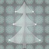 argb背景圣诞节defocused玻璃点燃结构树 库存图片