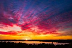 argb ζωηρόχρωμη λίμνη mazury πέρα από την ανατολή της Πολωνίας Στοκ Εικόνες