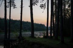 argb ζωηρόχρωμη λίμνη mazury πέρα από την ανατολή της Πολωνίας Στοκ εικόνα με δικαίωμα ελεύθερης χρήσης