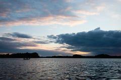 argb ζωηρόχρωμη λίμνη mazury πέρα από την ανατολή της Πολωνίας Στοκ φωτογραφία με δικαίωμα ελεύθερης χρήσης