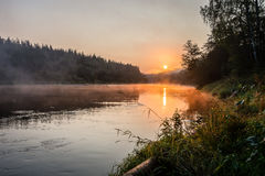 argb ζωηρόχρωμη λίμνη mazury πέρα από την ανατολή της Πολωνίας Στοκ φωτογραφίες με δικαίωμα ελεύθερης χρήσης