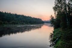 argb ζωηρόχρωμη λίμνη mazury πέρα από την ανατολή της Πολωνίας Στοκ Εικόνα
