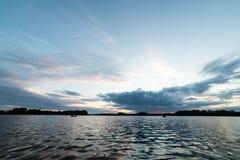 argb ζωηρόχρωμη λίμνη mazury πέρα από την ανατολή της Πολωνίας Στοκ εικόνες με δικαίωμα ελεύθερης χρήσης