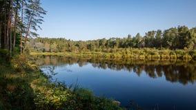 argb ζωηρόχρωμη λίμνη mazury πέρα από την ανατολή της Πολωνίας Στοκ Φωτογραφία