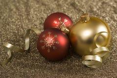 argb Χριστούγεννα σφαιρών Στοκ φωτογραφία με δικαίωμα ελεύθερης χρήσης