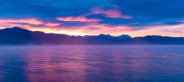 argb mazury misty λιμνών πέρα από την ανατολή της Πολωνίας Στοκ φωτογραφία με δικαίωμα ελεύθερης χρήσης