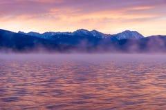 argb mazury misty λιμνών πέρα από την ανατολή της Πολωνίας Στοκ φωτογραφίες με δικαίωμα ελεύθερης χρήσης