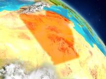Argelia de la órbita libre illustration