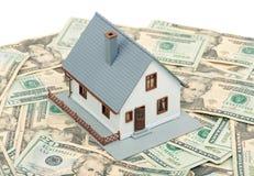 argent à la maison images stock