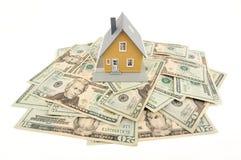 argent à la maison Image stock