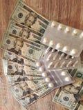 argent à vivre photo libre de droits