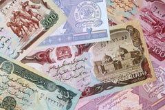 Argent afghan - afghani Photographie stock libre de droits