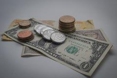 Argent, argent et plus d'argent photographie stock libre de droits