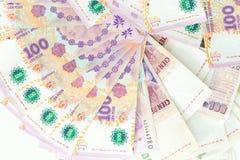 Argent argentin, peso, dénominations élevées Image libre de droits