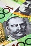 Argent australien Images libres de droits