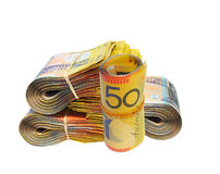 argent australien Images stock