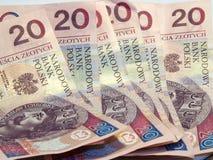 Argent - billets de banque Images libres de droits