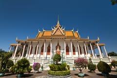 argent bouddhiste de tombeau de pagoda Images stock