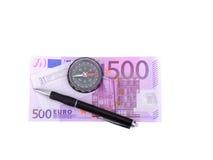 Argent cinq cents euros Images stock