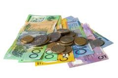 Argent comptant australien Image stock