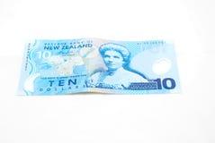 Argent comptant de la Nouvelle Zélande Photo libre de droits