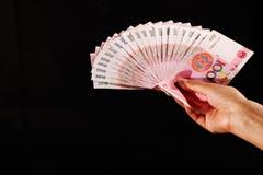 Argent comptant de RMB Photos libres de droits