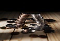 Argent d'économie et finances d'opérations bancaires de compte, concept de faillite photographie stock