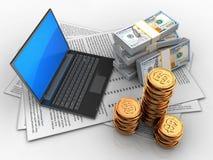 argent 3d Photo stock