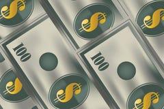 Argent d'argent comptant illustration stock