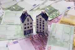 Argent d'EUR Photo libre de droits
