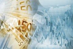 Argent d'euro d'Union européenne Images stock