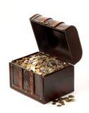 argent de cadre Photo stock
