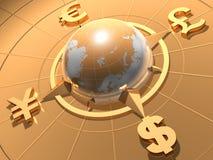 argent de concept Images stock