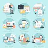 argent de concepts de calculatrice d'affaires Photographie stock libre de droits