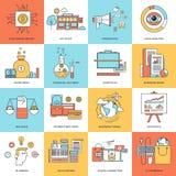 argent de concepts de calculatrice d'affaires Images libres de droits
