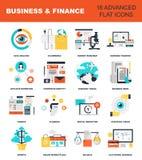 argent de concepts de calculatrice d'affaires illustration stock