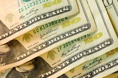Argent de dollars US Images libres de droits