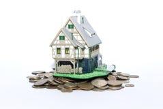 argent de maison photo libre de droits