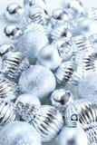 argent de Noël de billes image stock
