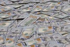 argent de sort des dollars de fond Photographie stock