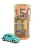 argent de véhicule images libres de droits